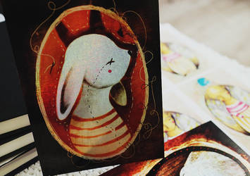 Dear rabbit by LucyBumpkinova