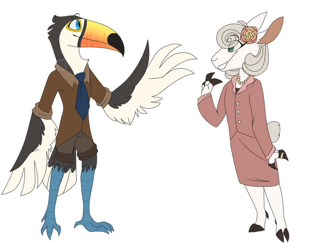 Thomas Walsh and Lauren Hart (Solver Squad) by Frozen-Yeti