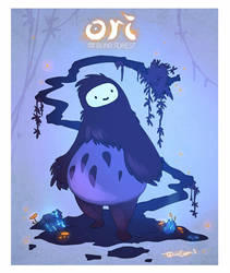 Ori and the Blind Forest by TalinComill