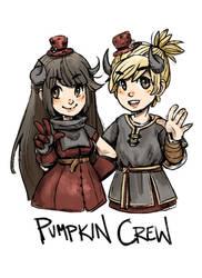 Pumpkin Crew by kirsten7767