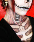 Halloween Make Up - Skull Girl by RedStar-Sama