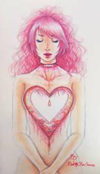 Heartless girl by RedStar-Sama