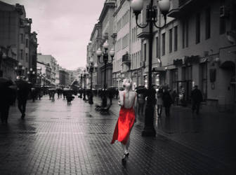 Woman in Red by Transformed-God