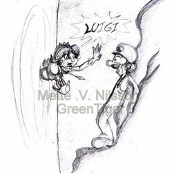 Dasiy and Luigi by GreenTigerDK