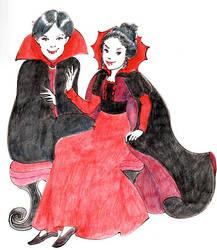 Inktober 30 Costumes by Leochi