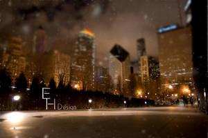 Last Snowflakes by BonaFideChimp