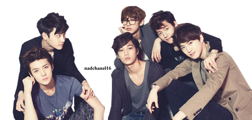 EXO-K PNG by nadchanel16