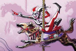Carousel - Harley Quinn by Mamath