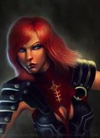 Dragon Age Portrait: Leliana by gtneoart
