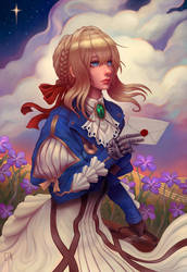 Violet Evergarden by gtneoart