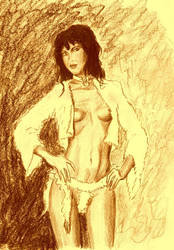Latisha in Fur by Zungur