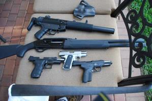 Guns by Kristennicoleee