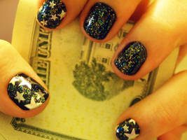 New Years Nails by notannounced