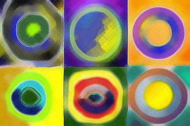 circles and dots by mowafag