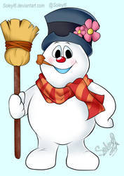 Frosty the Snowman by Soleyl6