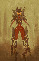Robotic Armor Suit by Ionahipri