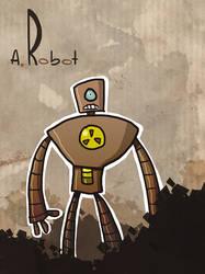A Robot by Ionahipri