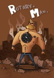 Rotary-Man by Ionahipri