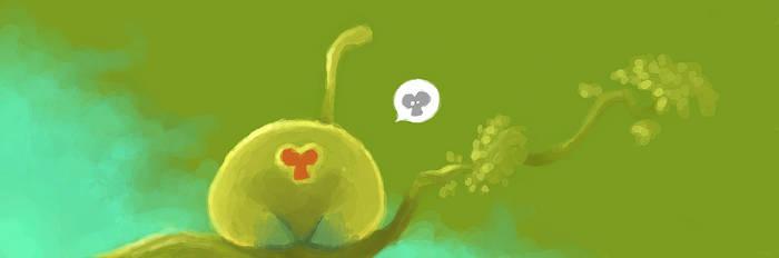 Green Monkey by Ionahipri