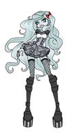 Monster High OC Phantella by Vanilla-Cat