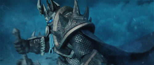 The Lich King (Warcraft Action Figure) by UntamableBeast