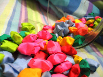 Origami Stars by splash-love