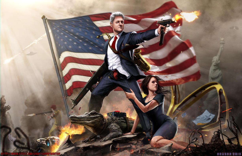 Bill Clinton the Lady Killer by SharpWriter