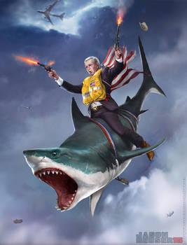 George DUBYA Bush by SharpWriter