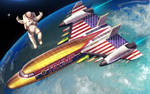 Space Force One by SharpWriter