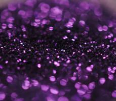 Bokeh Glitter Stock PURPLE by Tyuki-san