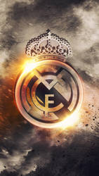 Real Madrid - HD Logo Wallpaper by Kerimov23