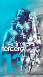 DECIMOTERCERA - Real Madrid Wallpaper by Kerimov23