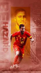 Eden Hazard - World Cup Wallpaper by Kerimov23