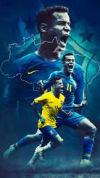 Coutinho - Brazil Wallpaper by Kerimov23