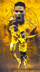 Falcao - Colombia Wallpaper by Kerimov23