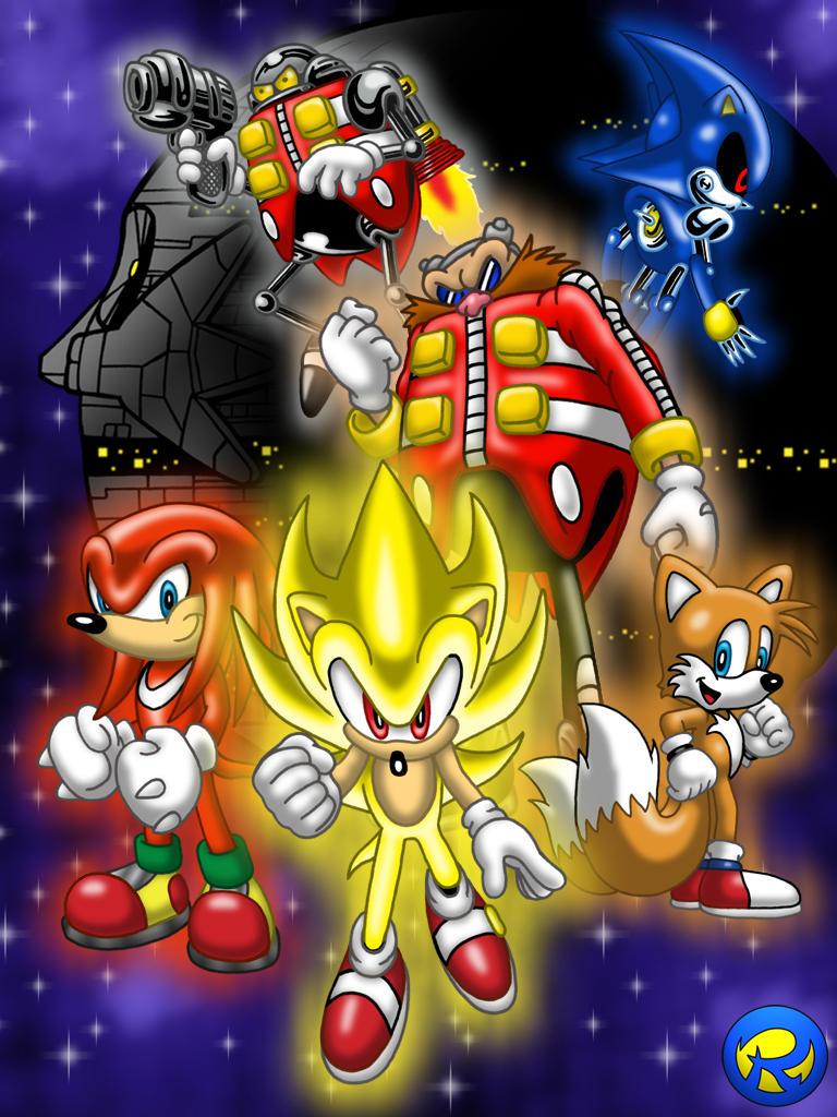 Super sonic hq characters by rogferraz on deviantart - Super sonic 6 ...