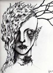 'Self-Portrait' by Hiox