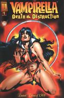 Vampirella: Death and destruction by synthetikxs