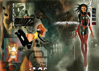 Syphons Bw Reprint Wraparound Cover by synthetikxs