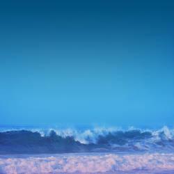 akvo Waves Wallpaper (iPad) by iPurpl3X