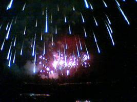 meteor shower by kolejante