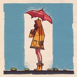 Rainy day. by larolaro