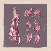 Meat. by larolaro