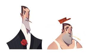 Gentlemen. by larolaro