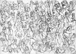 DoodleNudes_05 by larolaro
