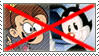 (Request) Anti- Yakko Warner x Luan Loud stamp by nicegirl97