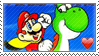 Super Mario World fan stamp by nicegirl97