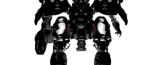 Mecha Render 3D by strother