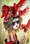 Birds by MissLilii
