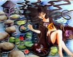 Japanese garden by MissLilii